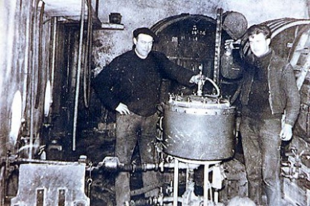 Jean et Gilbert Perrier en 1959