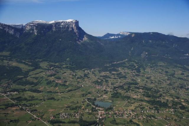 Vignoble des Abymes et d'Apremont au pied du Mont Granier