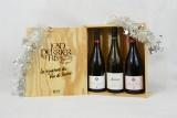 Coffret noel 3 bouteilles vin de savoie