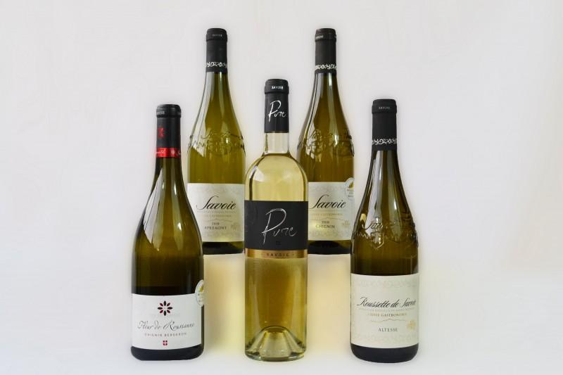 Colis vin  de savoie 6 bouteilles les champions