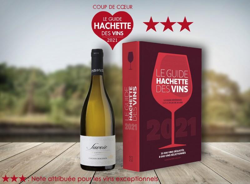 coup-de-coeur-hachette-2021 chignin bergeron cuvee gastronomie vins perrier